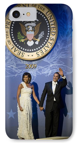 President And Michelle Obama IPhone Case