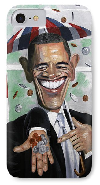 President Barock Obama Change IPhone Case