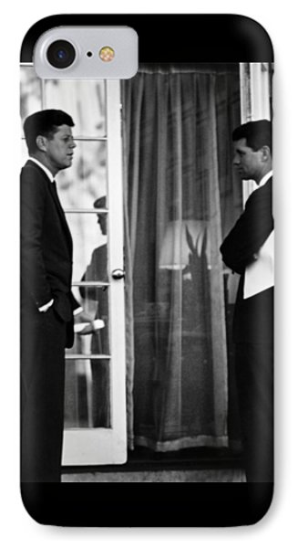 President John Kennedy And Robert Kennedy Phone Case by War Is Hell Store