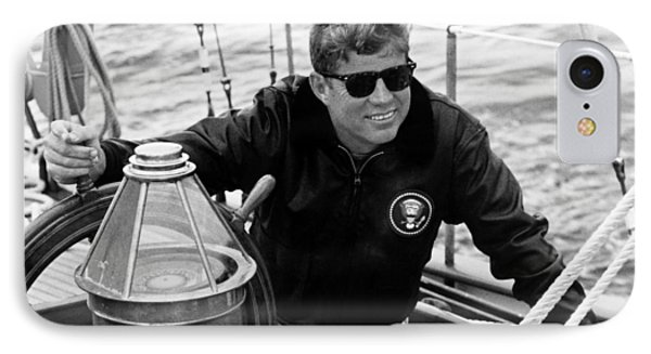 President John Kennedy Sailing Phone Case by War Is Hell Store
