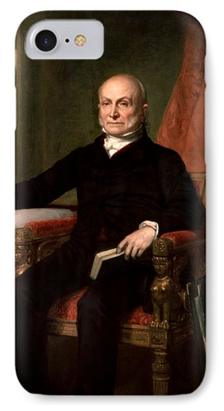 President John Quincy Adams  Phone Case by War Is Hell Store