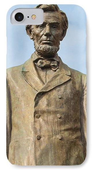 President Lincoln Statue IPhone Case