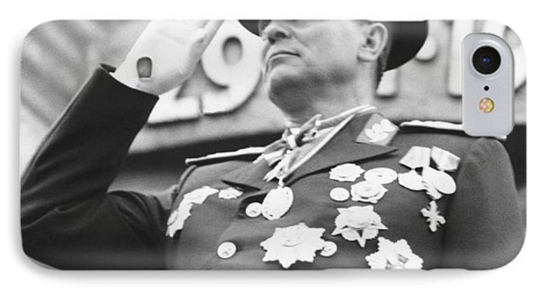President Marshal Tito Salutes IPhone Case