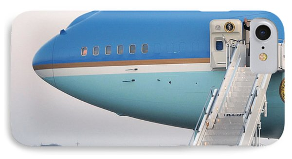 President Obama, Osan Air Base, Korea IPhone Case by Science Source