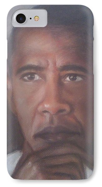 President Obama  IPhone Case by Ronnie Melvin