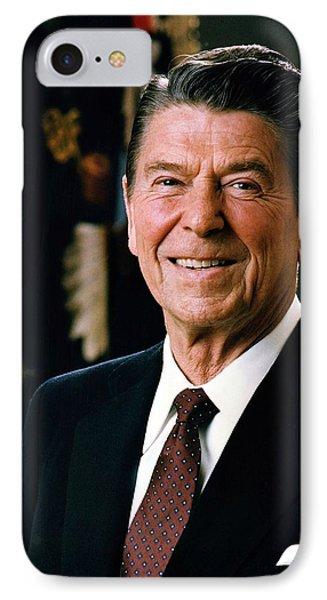 President Ronald Reagan Phone Case by Mountain Dreams