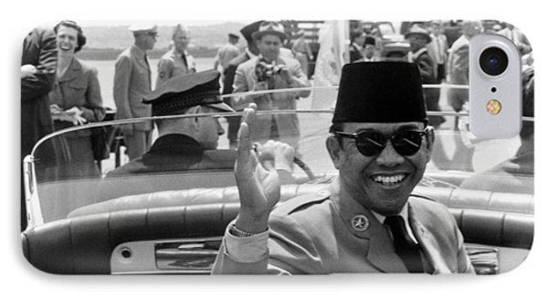 President Sukarno Of Indonesia IPhone Case