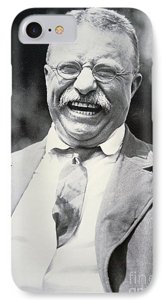 President Theodore Roosevelt IPhone Case by American Photographer