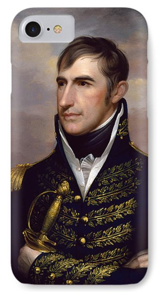 President William Henry Harrison IPhone Case by War Is Hell Store