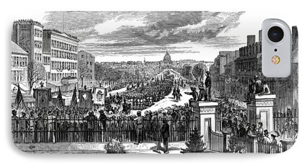 Presidential Inauguration, 1873 IPhone Case by Granger