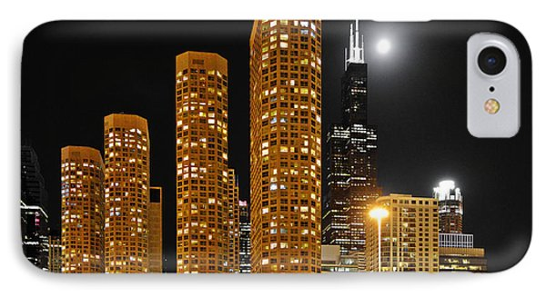 Presidential Towers Chicago Phone Case by Christine Till