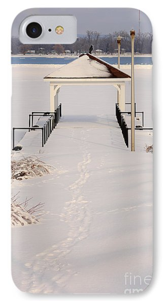 Presquile Provincial Park In Winter IPhone Case