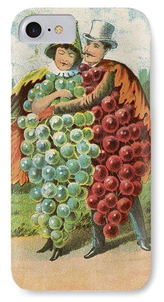 Pressed Grapes IPhone Case