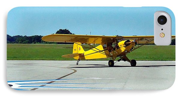 Preston Aviation Piper Cub  IPhone Case by Chris Mercer