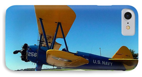 Preston Aviation Stearman 001 IPhone Case by Chris Mercer