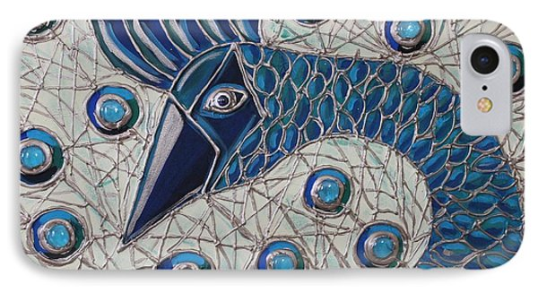 Pretty As A Peacock 2 IPhone Case by Cynthia Snyder
