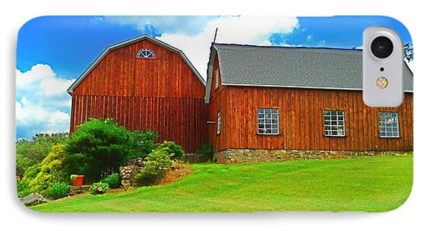 Pretty Barn And Arch Window IPhone Case