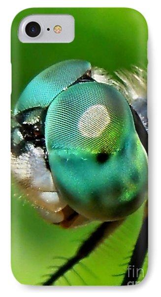 Pretty Eyes IPhone Case by Renee Trenholm
