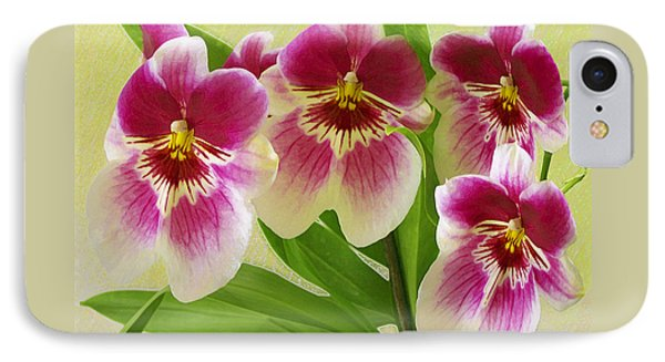 Pretty Faces - Orchid Phone Case by Ben and Raisa Gertsberg