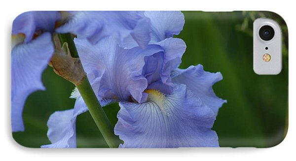 Pretty In Blue IPhone Case by Nance Larson