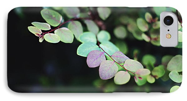 IPhone Case featuring the photograph Pretty In Green by Heather Green