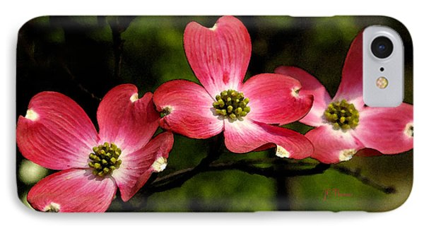 IPhone Case featuring the photograph Pretty In Pink by James C Thomas