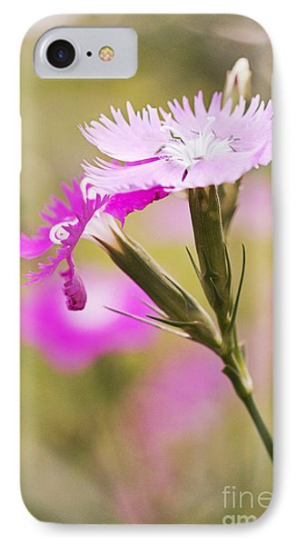 Pretty In Pink Phone Case by Pamela Gail Torres
