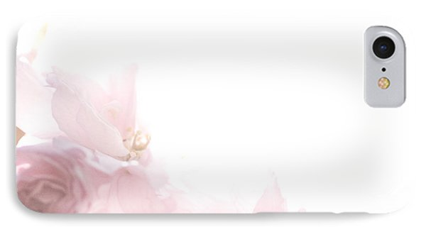 Pretty In Pink - The Dancer IPhone Case by Lisa Parrish