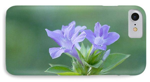 Pretty In Purple Phone Case by Kim Hojnacki
