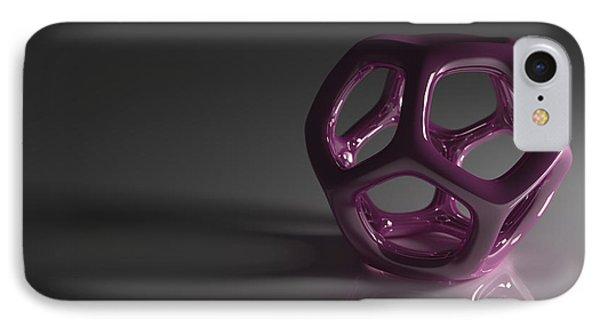 Pretty In Purple Phone Case by Troy Harris
