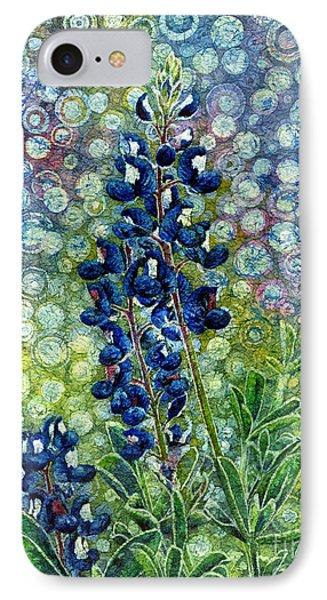 Pretty In Blue IPhone Case by Hailey E Herrera