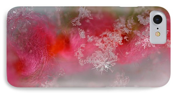 IPhone Case featuring the photograph Pretty Little Snowflakes by Lauren Radke