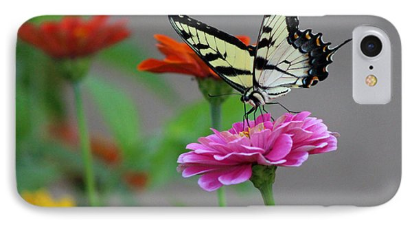 IPhone Case featuring the photograph Pretty On Pink by Lorna Rogers Photography