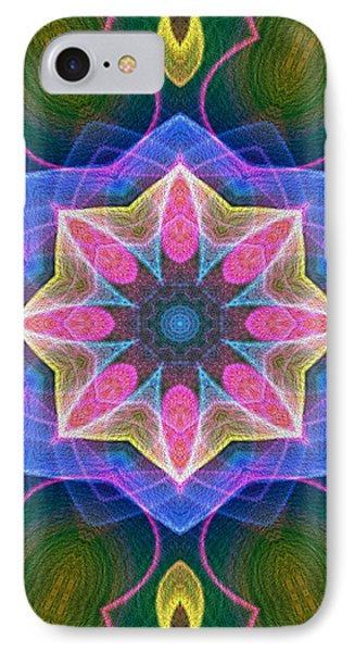 IPhone Case featuring the digital art Pretty by Owlspook