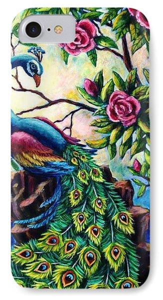Pretty Peacock IPhone Case