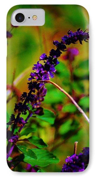 Pretty Purple Plant IPhone Case