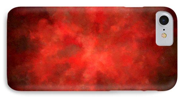 Pretty Scarlet IPhone Case by Lourry Legarde
