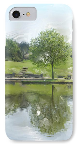 Pretty Tree In Park Picture.  Phone Case by Christopher Rowlands