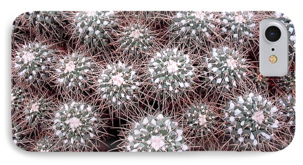 IPhone Case featuring the photograph Prickly Business by Mary Bedy