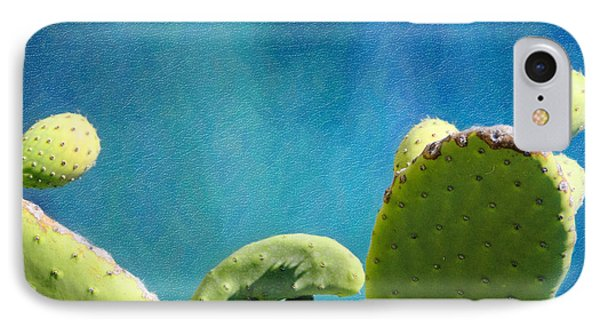 Prickly Pear Art IPhone Case by Vicki Jauron