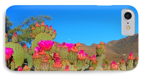 Prickly Pear Blooming IPhone Case