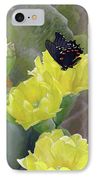 Prickly Pear Flower Phone Case by Adam Johnson