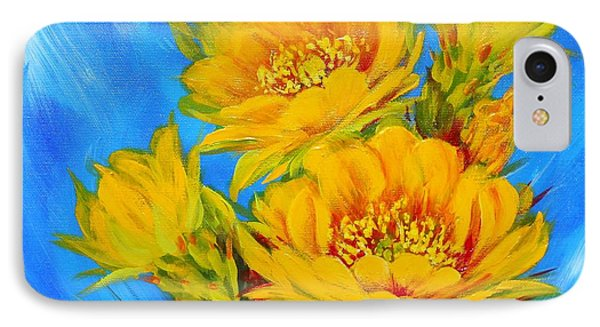 Prickly Pear In Bloom IPhone Case by Summer Celeste