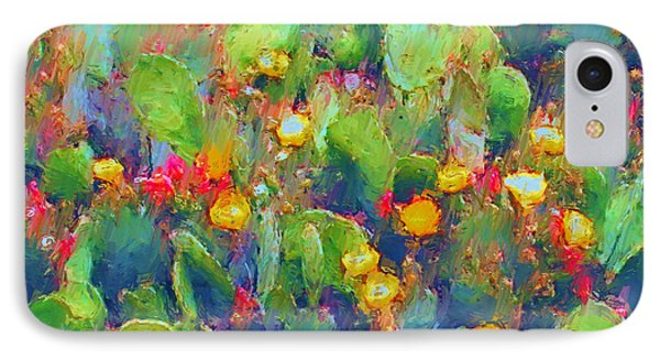 Prickly Pear Painting IPhone Case