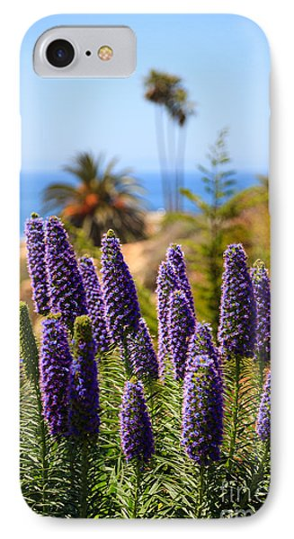 Pride Of Madeira Flowers In Orange County California Phone Case by Paul Velgos
