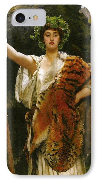 Priestess Bacchus Phone Case by John Collier