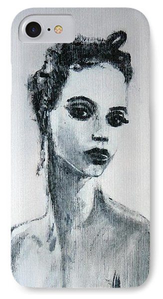 IPhone Case featuring the painting Primadonna by Jarmo Korhonen aka Jarko