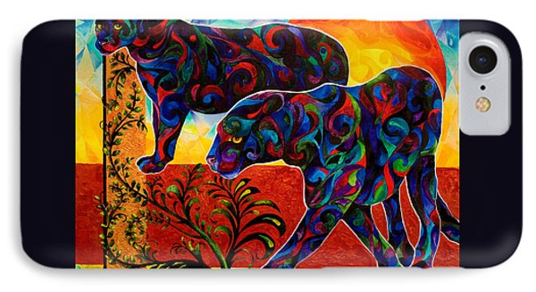 Primal Dance IPhone Case by Sherry Shipley