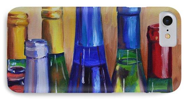 Primarily Wine Phone Case by Donna Tuten