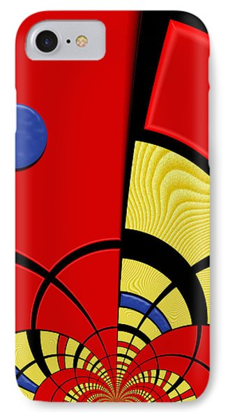 Primary Motivations 3 IPhone Case by Wendy J St Christopher